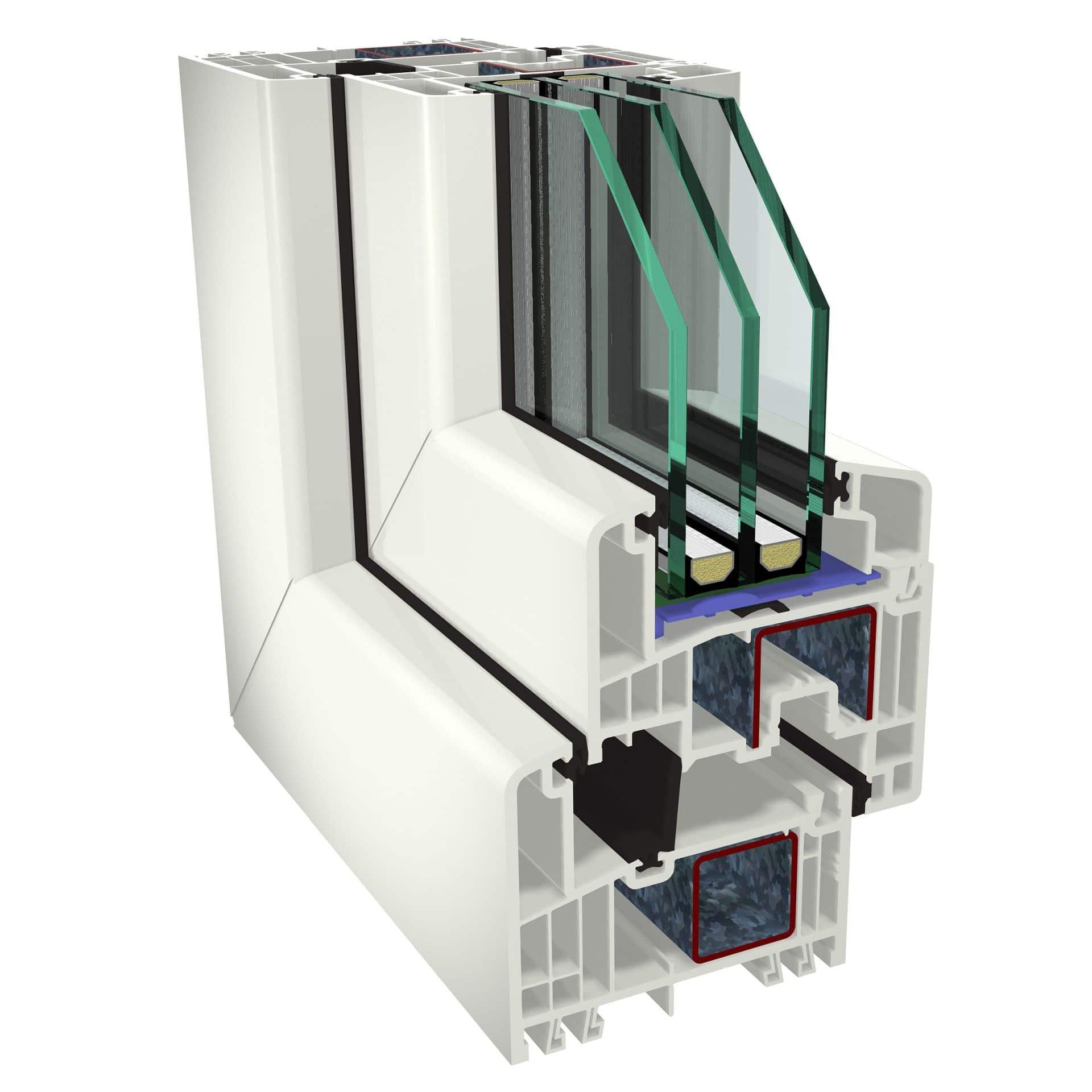 Plastové okná GEALAN S9000